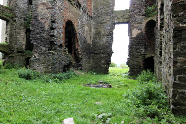 Interior Raphoe Castle Ruins