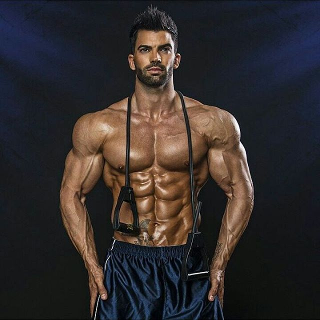 sergi constance 8 pack abs workout