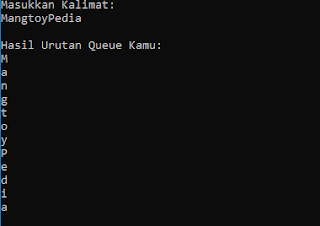 Contoh Program Queue C#