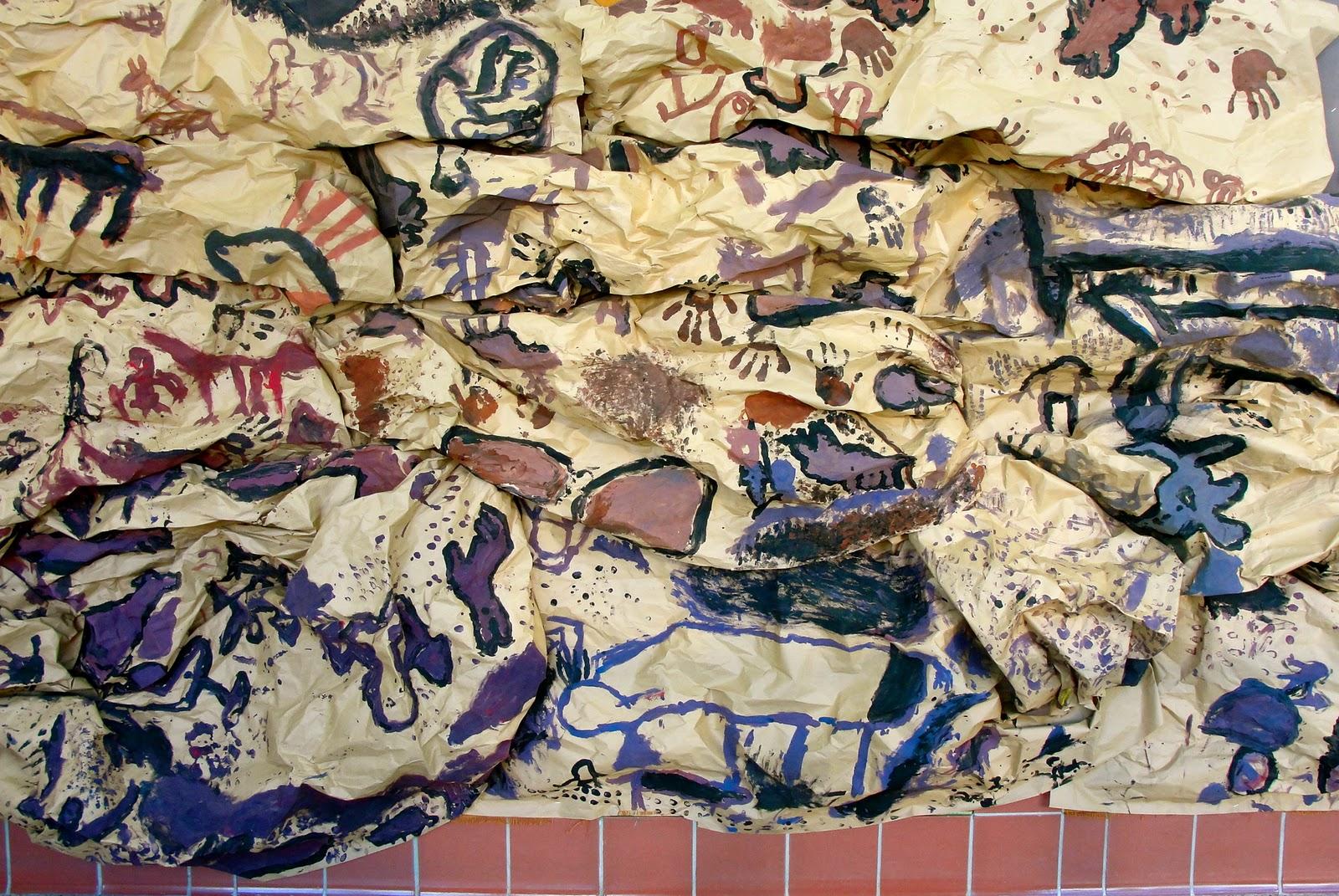 Da Vinci S Wings 3rd Grade Lascaux Cave Paintings