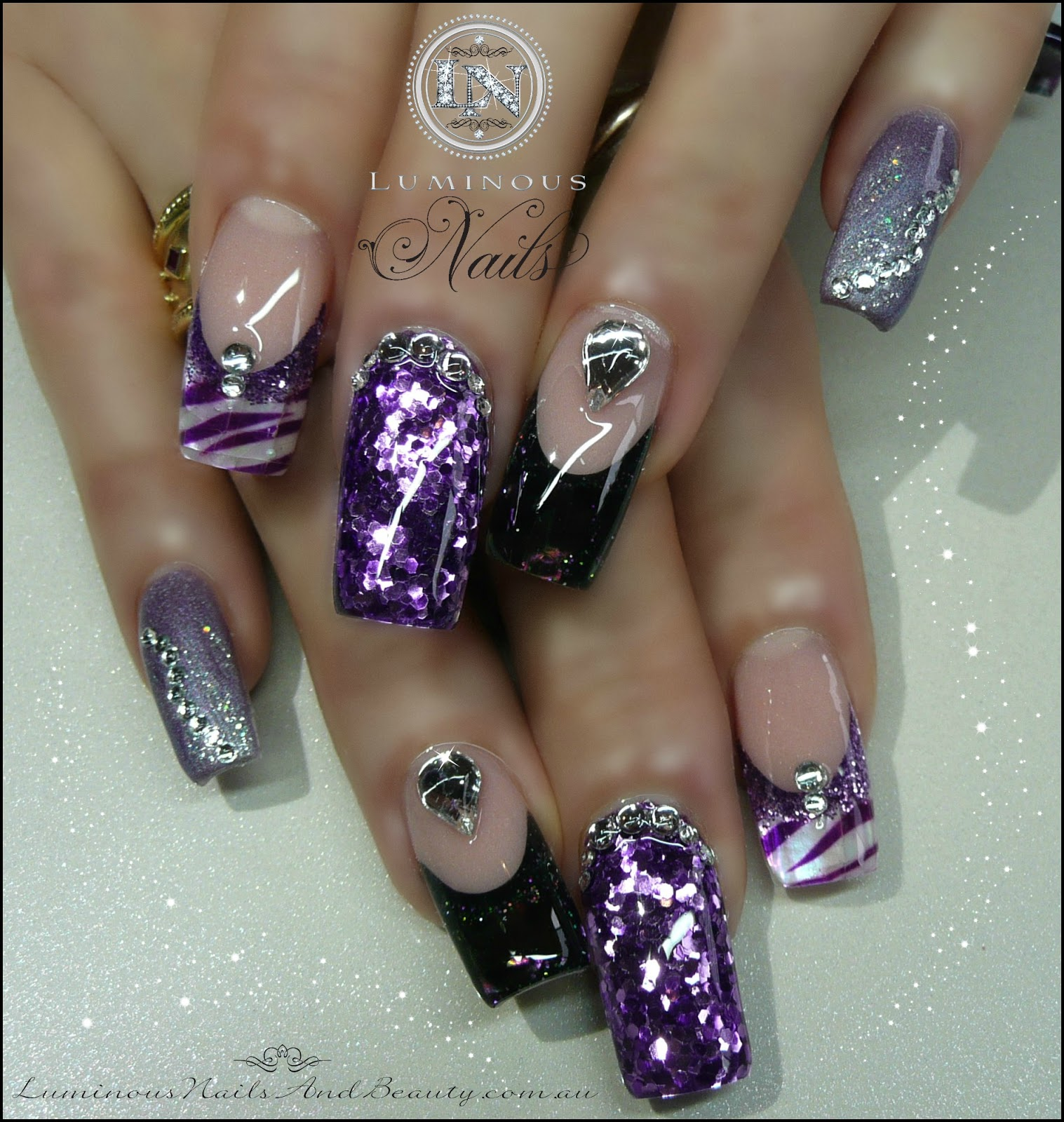 Luminous Nails: June 2013
