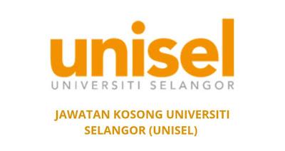 Jawatan Kosong UNISEL 2019 Universiti Selangor