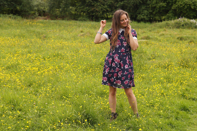 Sunday best dress fashion blogger