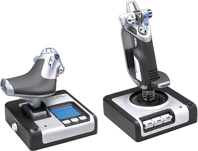 Saitek's X52 for Flight Control