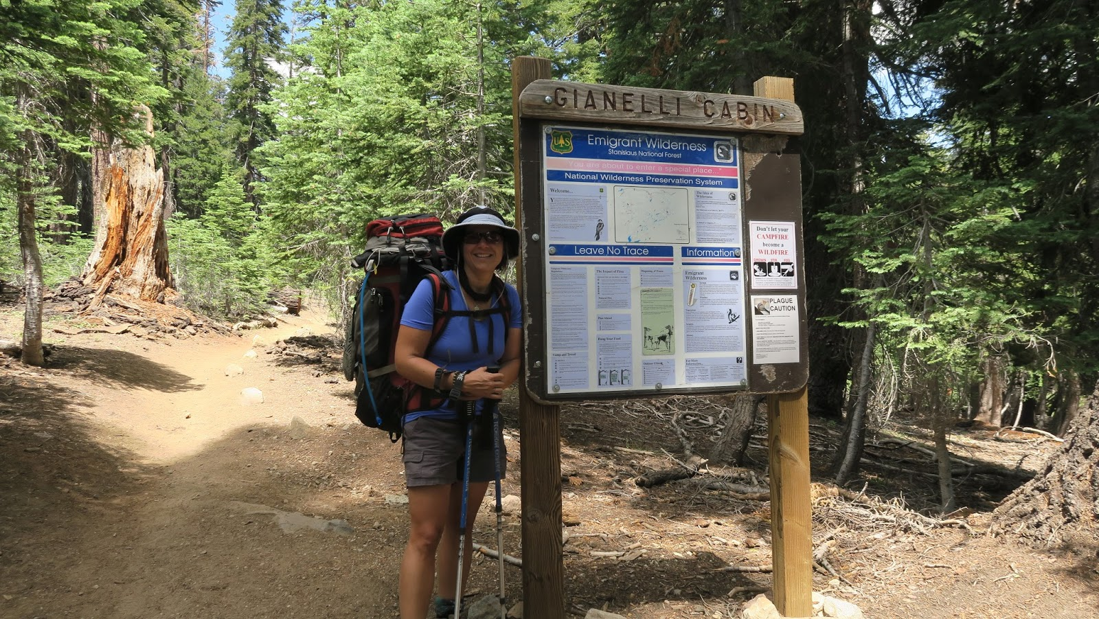 Diary of an Aspiring Loser: Backpacking: Gianelli Cabin to