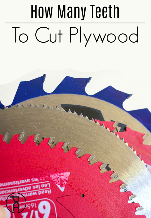 What circular saw blade tooth count is best for cutting delicate plywood I do a side by side comparison so you can see how each cut looks