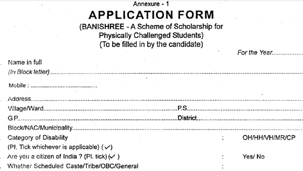 Odisha Banishree Scholarship Application Form Download, How to Apply, Eligibility and Full info