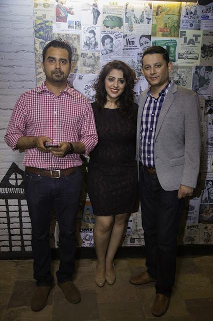 Rajesh, Sharifa & Jaideep