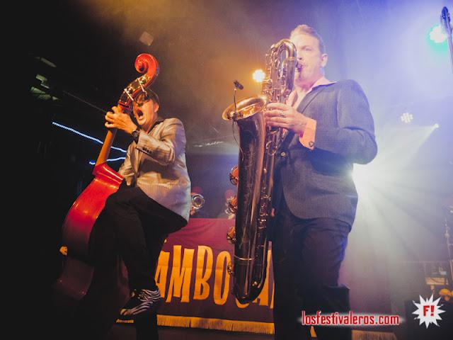 Mambo Jambo Arkestra en Barcelona @Razzmatazz