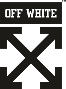 Off white Logo Vector free