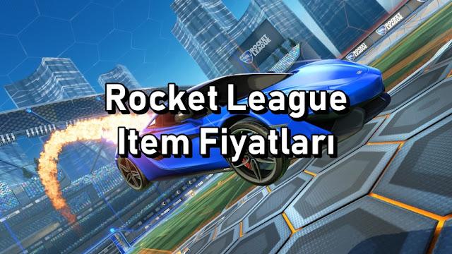 Rocket League Item Price List