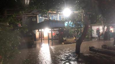 Antisipasi Banjir di Desa Laringgi, BPBD Soppeng Terjunkan TRC