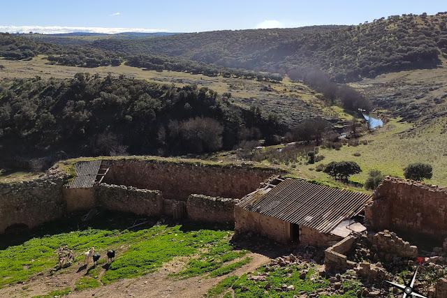 Vistas río Guadalén, castillo de Montizón