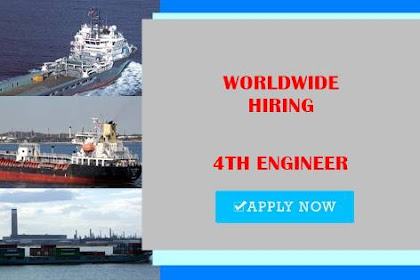 Seaman Jobs Rank 4th Engineer