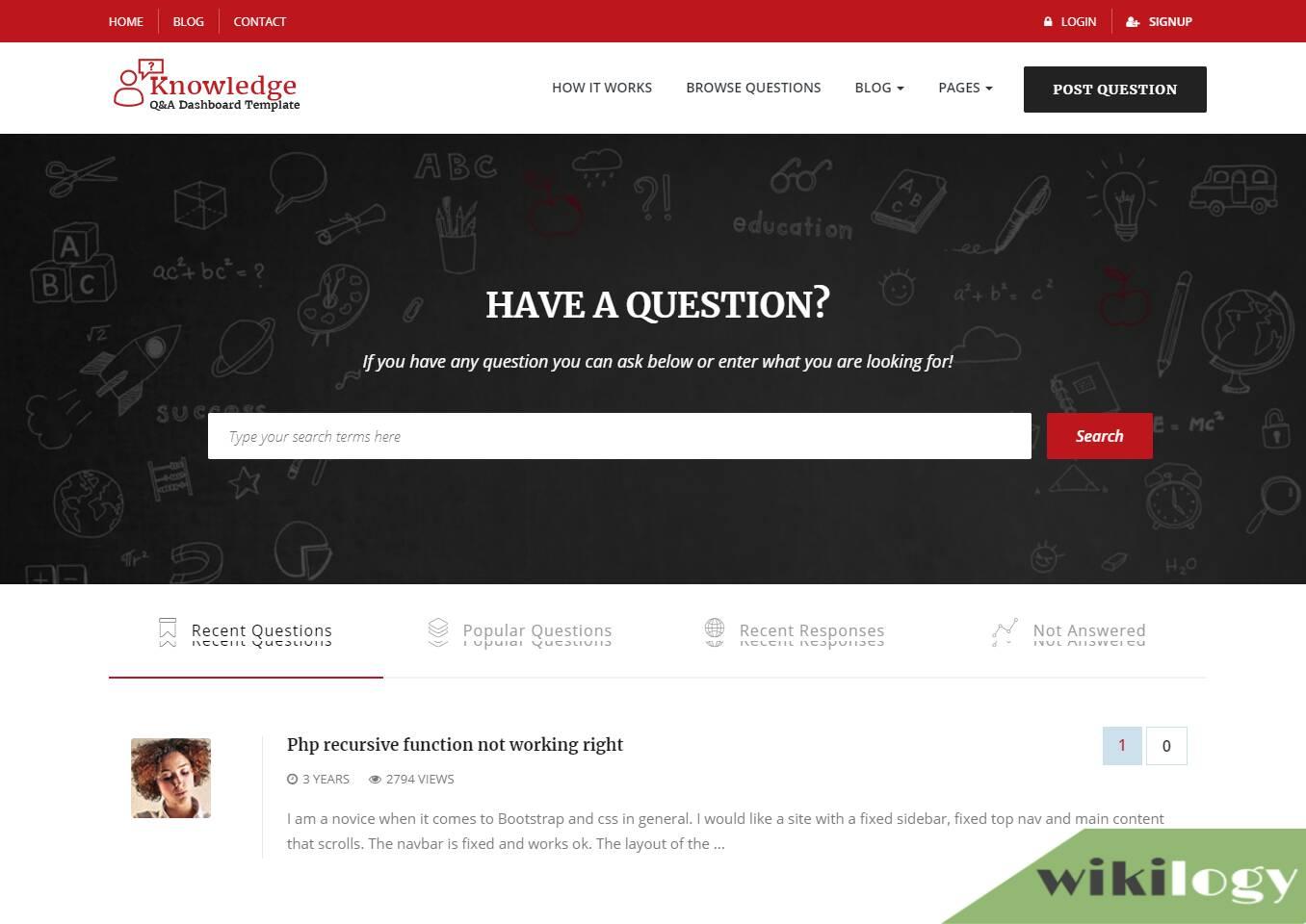 InfoCenter Discussion WordPress theme