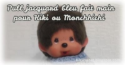 kiki Monchhichi tricot handmade fait main