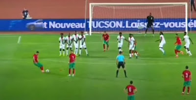 """المغرب تفوز ودياً على بوركينا فاسو بهدف """"حكيمي"""""""