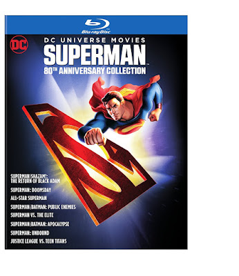 DC Universe Superman 80th Anniversary Collection Blu-ray