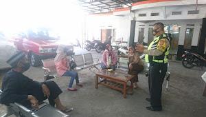 Binmas Jatiendah Cileunyi Polresta Bandung Dampingi Pengamanan Banbup Tahap 7