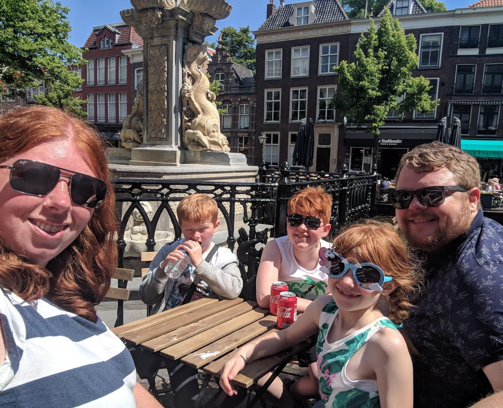 Lunch at Leiden Market