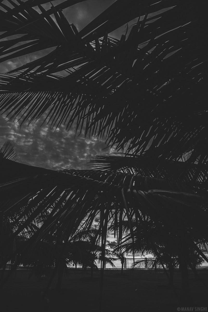 Sunrise from Le Pondy Beach Resort, Pondicherry- 31-Oct-2019