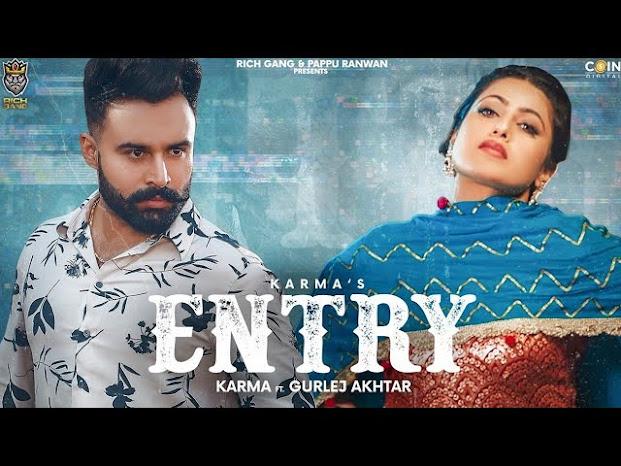 Entry Song Lyrics | Karma | Gurlez Akhtar | Desi Crew | Narinder Batth | Rich Gang | Coin Digital Lyrics Planet