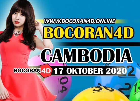 Bocoran 4D Cambodia 17 Oktober 2020