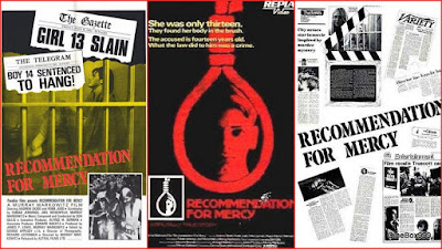 Recommendation for Mercy / Teenage Psycho Killer. 1975.