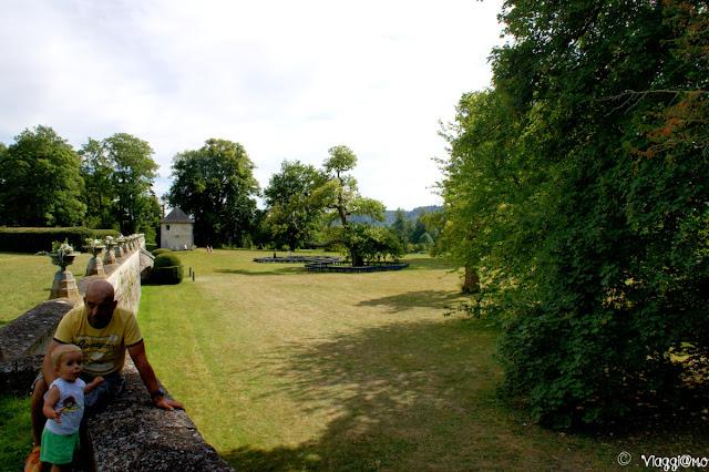 Il parco circostante l'Abbaye de Jumieges