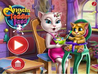http://www.jogosonlinedemenina.com.br/jogando-angela-alimentando-o-bebe.html