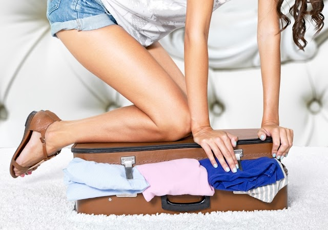How to pack your suitcase to save space and not lose weight