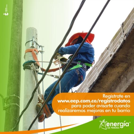 Mejoras programadas de Energía de Pereira