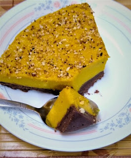 Paleo No-Bake Pumpkin Pie with Chocolate Hazelnut Crust (Keto, Gluten-Free, Refined Sugar-Free,Vegan) 4.jpg