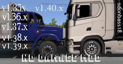 No Damage v5.0 - ETS2 1.40