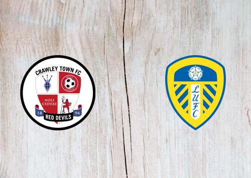 Crawley Town vs Leeds United -Highlights 10 January 2021