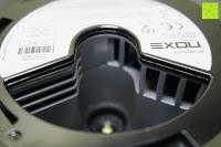 Rauchmelder innen: Lumen Basic schwarz ? Rauchmelder, ersetzt Ihr Sockel/Pavillon Luminaire (Noxe)