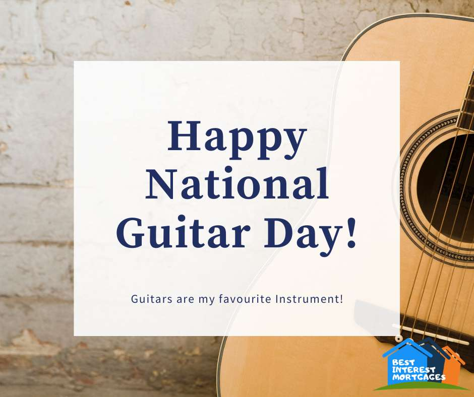 National Guitar Day Wishes For Facebook