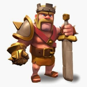 Barbarian King , COC , CLASH OF CLANS