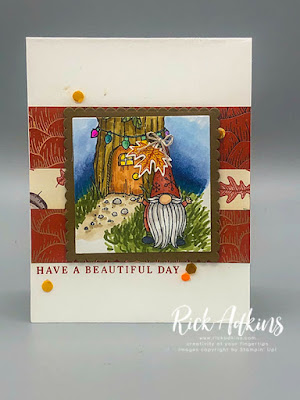 Have you wondered what else you could do with the Gnome for the Holidays Stamp Set in the Stampin' Up! August-December Mini Catalog?  On my blog today I turn this cute little Christmas Set into a Fall Card.  Visit my post to learn how!