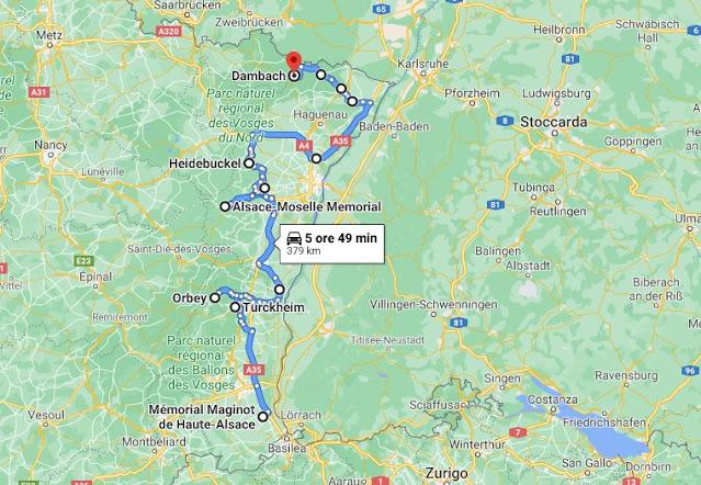 Le fortificazioni in Alsazia