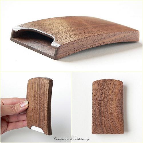 hộp đựng card gỗ Maple