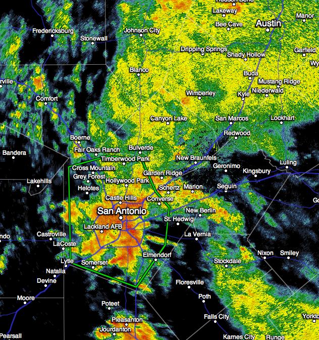 MSE Creative Consulting Blog: Major Flash Flood in San Antonio