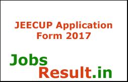 JEECUP Application Form 2017