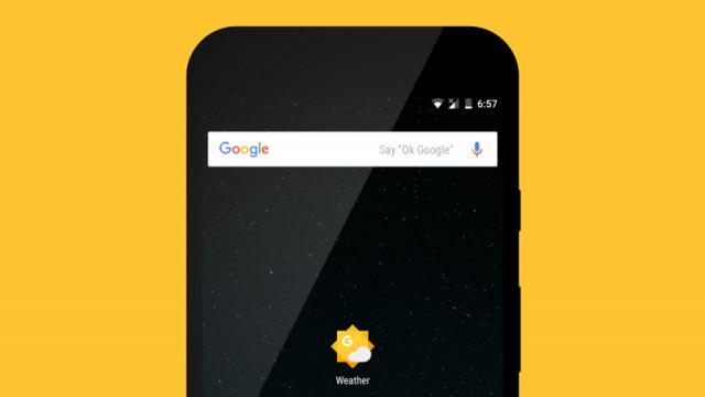 Aplikasi google cuaca