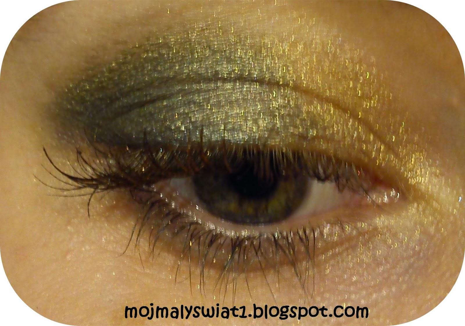 złoty cień