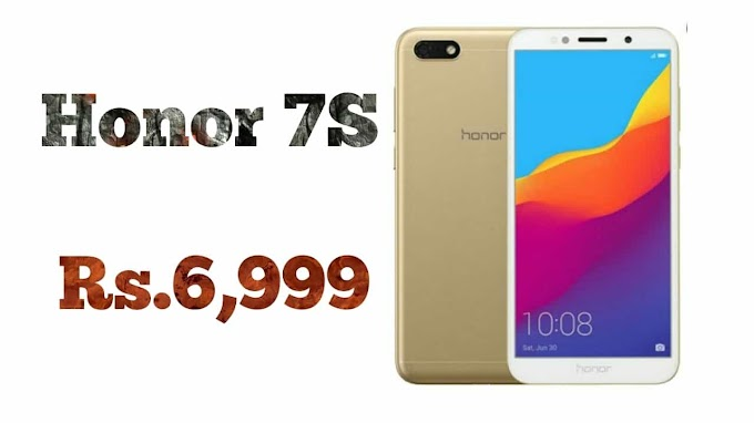 Honor 7S launched in India at Rs 6,999: Price, specifications and more