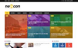 Newcon Magazine blogger template
