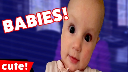 Funniest Reactions, Sounds & Bloopers Baby Compilation February 2017