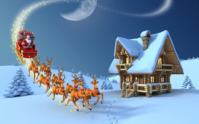 old-christmas-scene