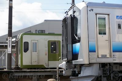 GV-E400系とキハ110系
